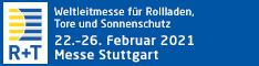 R+T 2021 Fachmesse, wir nehmen teil