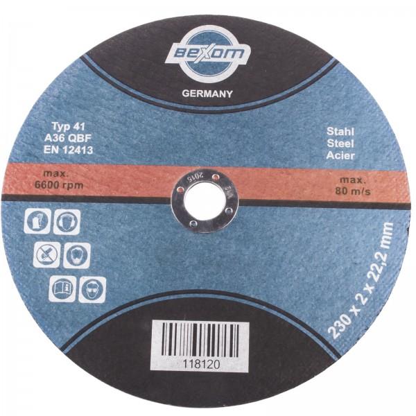 Trennscheiben Stahl 230x2,0 Bexom