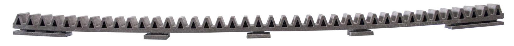 zahnstange stahl torantrieb schiebetor antrieb kunststoff metall zahnstangen ebay. Black Bedroom Furniture Sets. Home Design Ideas