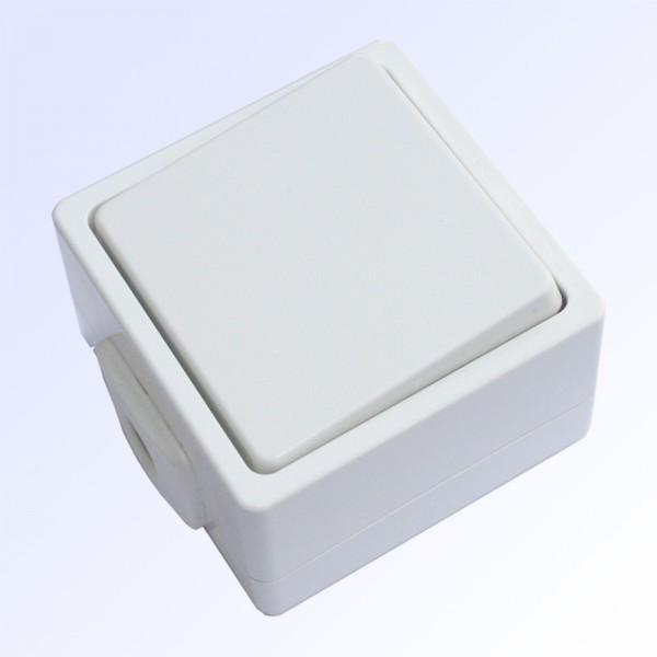 Schalter 1-fach ultraweiss