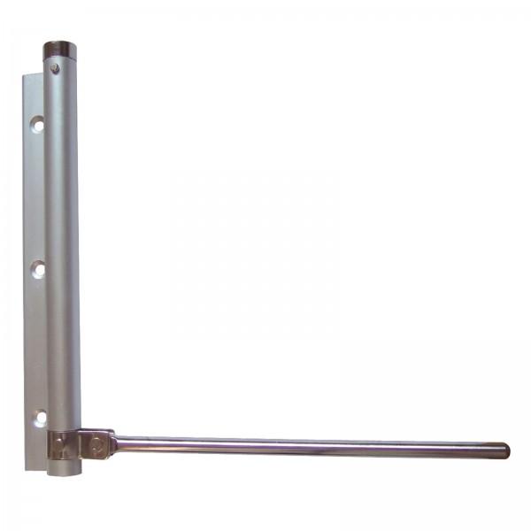 Stangentürschließer aus Aluminium