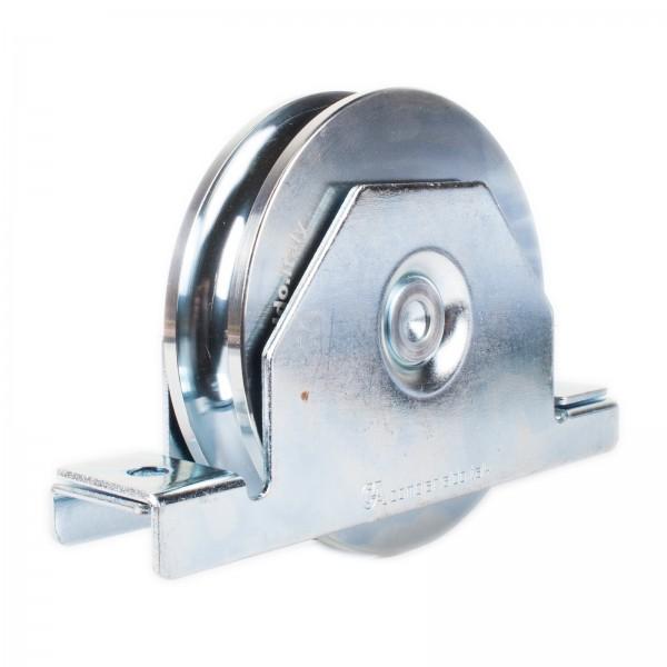 Laufrolle mit Innenstützplatte Ø 140 mm Rundnut Ø 20 mm