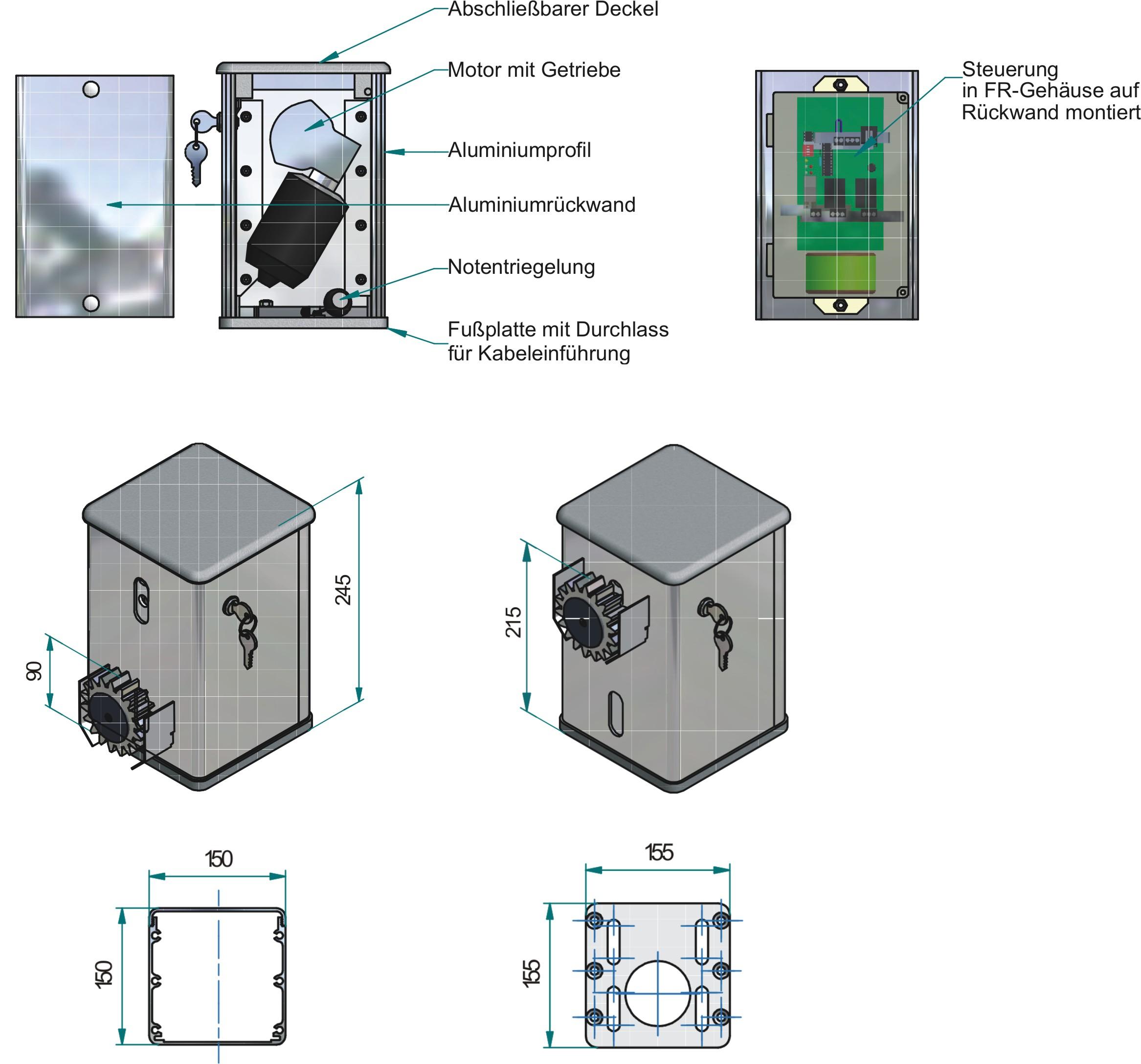 Vario-slider-Technische-Daten