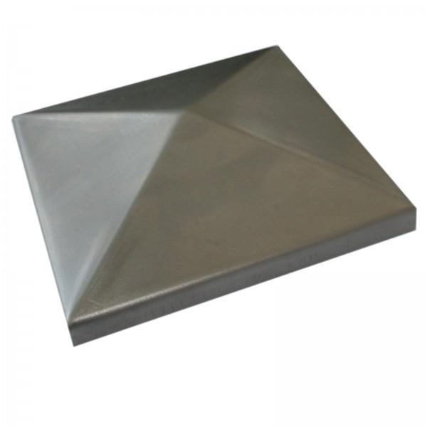 Pfostendeckel Pyramide mit Rand