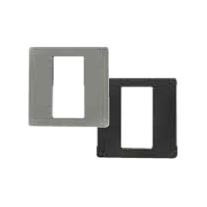 Dekorblende für Fingerscanner UP aluminium