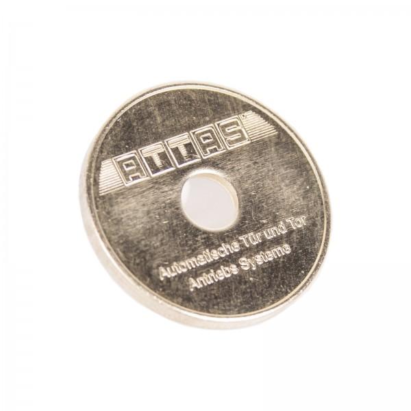 Parkmünzen / Lochmünzen
