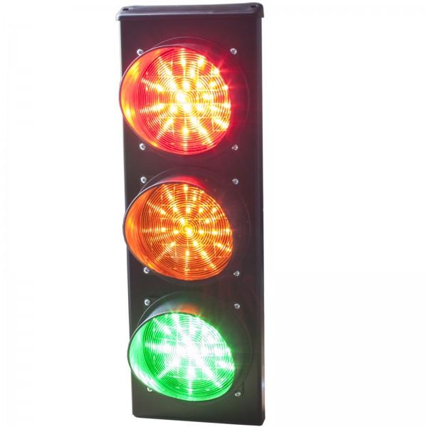 Verkehrsampel rot--gelb-grün LED