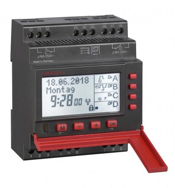 Digitale Schaltuhr 2-Kanal SC 98.20 für Verteilereinbau