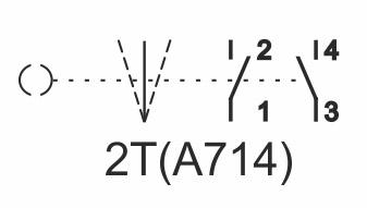 Schaltplan Schalter A714