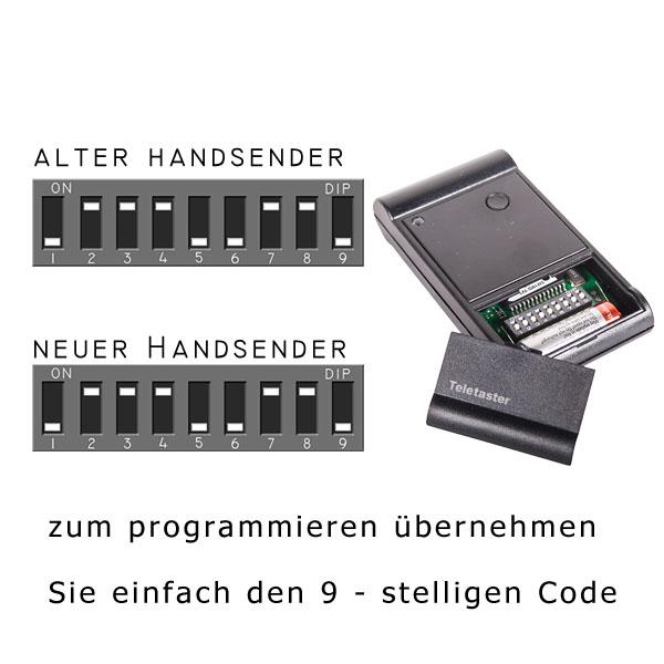 Programmierung des Tedsen SM1MD Toröffners