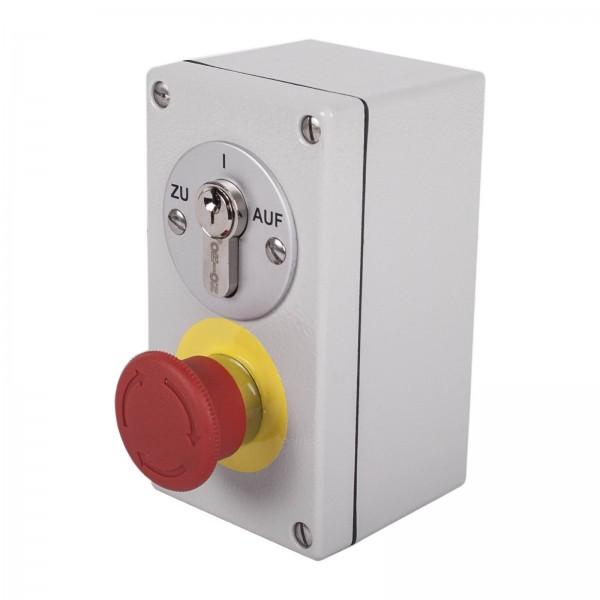 Schlüsselschalter mit NOT-AUS