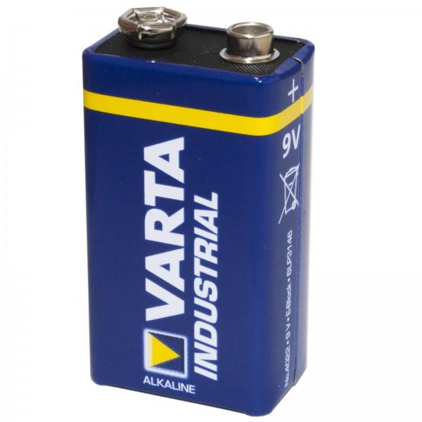 Batterie Varta Industrial Blockbatterie 9V