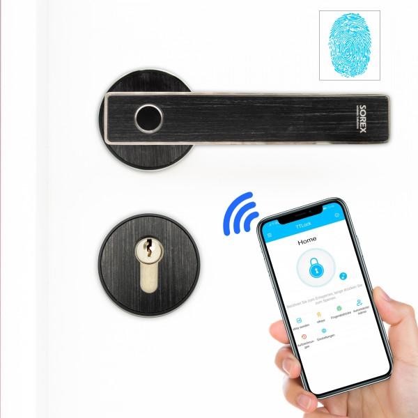 SOREX Bluetooth Türgriff mit Fingerprint