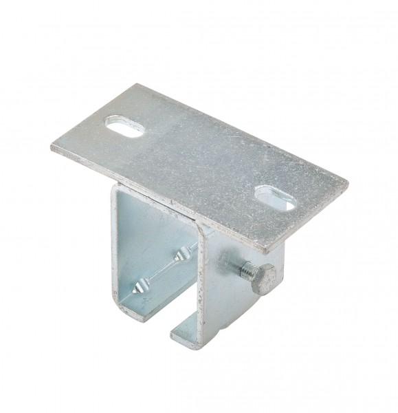 Deckenhalterung für Laufschiene 42x54 mm