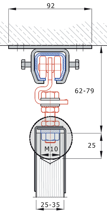 Montagevariante-Deckenbefestigung-0