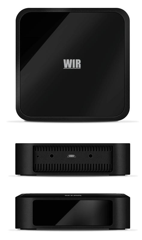 Das SMART-Home Set WIR Gateway