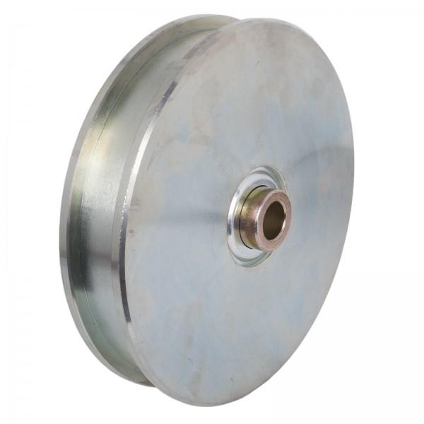 Laufrolle Ø 250 mit Schmiernippel bis 1500 kg