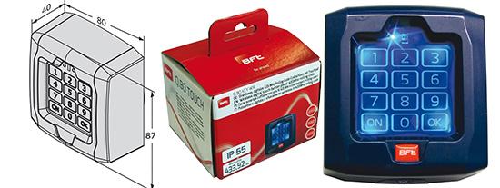 Rolltor Hoftor BFT Schiebetorantrieb Icaro-Ultra-Kit bis 2000kg Schiebetor