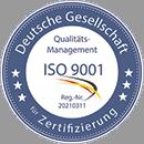 Die ATTAS GmbH ist nach ISO 9001:2015 zertifiziert