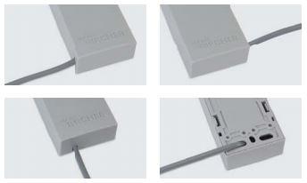 Kabeldurchführung der Signalübertragung