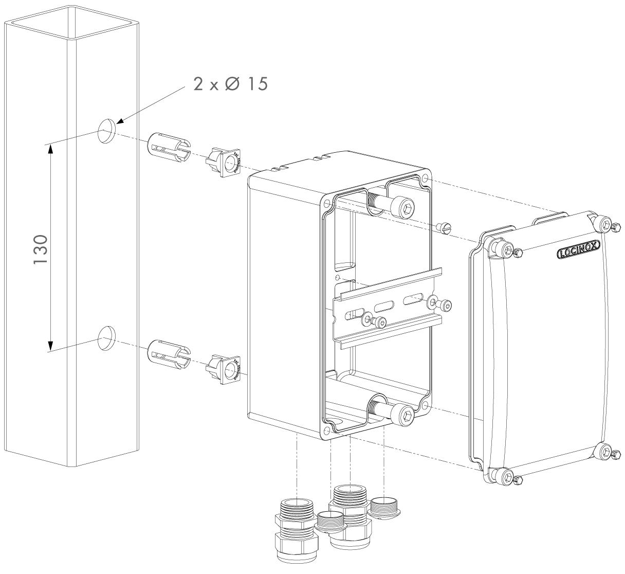 LOCINOX Powerbox Zeichnung