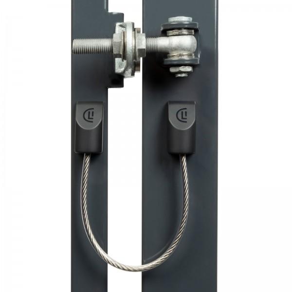 Locinox U-SAFE: Sicherheitskabel für Tore bis 500kg
