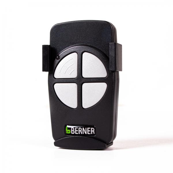 Handsender Berner 868 MHz 4-Kanal Festcode BHS140