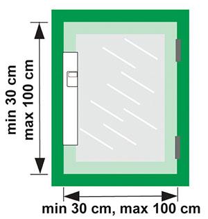 Voraussetzungen für den Akku-betriebenen Fensterantrieb