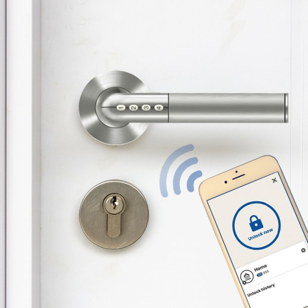 SOREX Bluetooth Türgriff mit Zahlencode