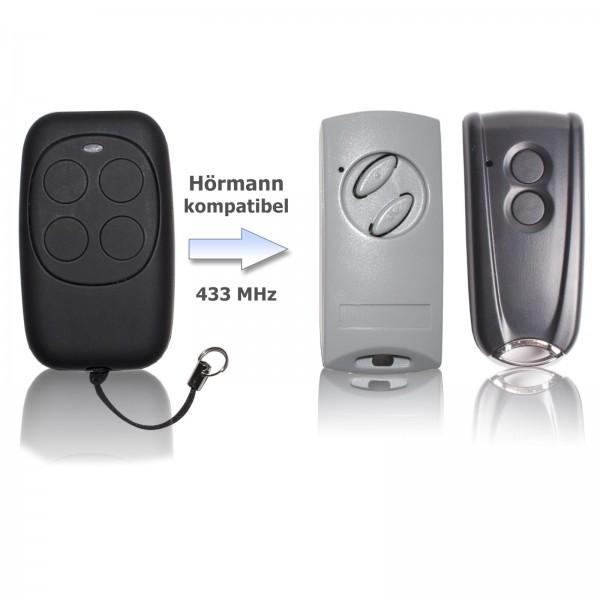 Handsender 433 MHz für HÖRMANN ECOSTAR RSC2 RSE2