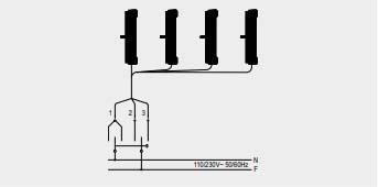 Anschlussschema des ATTAS Fensterantriebs