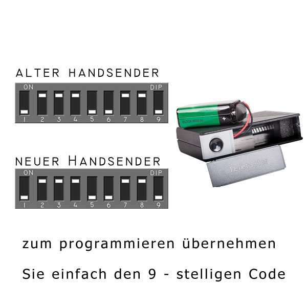 Programmierung des Tedsen SM1 Toröffners