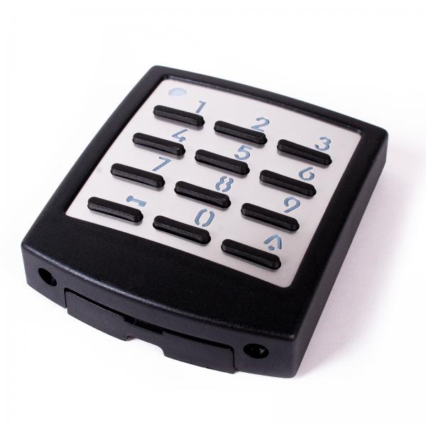 Funkcodeschloss Metall DigiCode 433 MHz Tormatic Novoferm schwarz / weiß Premium