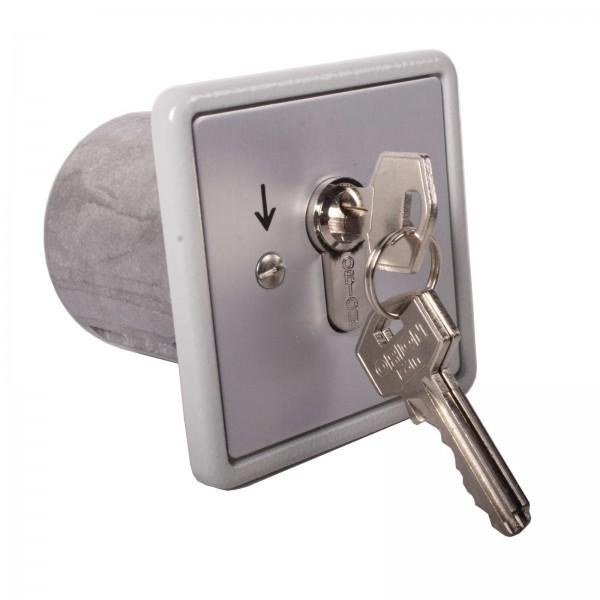 Schlüsselschalter tastend/rastend UPRA 1-TR