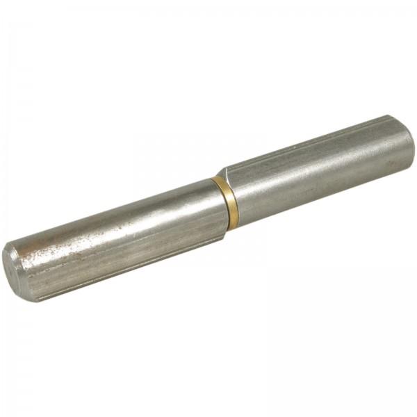 Anschweißband aus Stahl mit Messingring