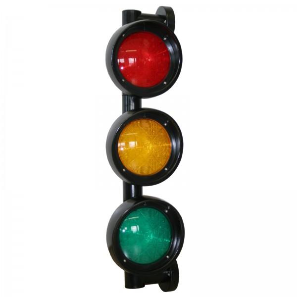 Verkehrsampel rot-gelb-grün LED 230 V