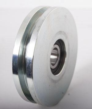 Laufrolle-mit-Bolzen-schmale-Nut-Detail