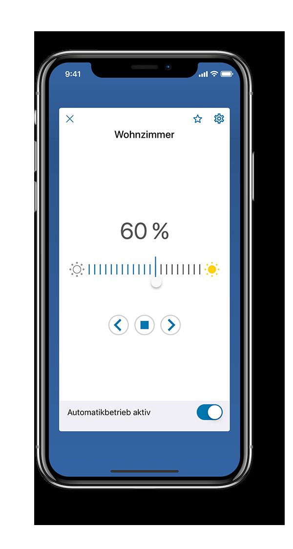 Komfortable Steuerung über die HomePilot App
