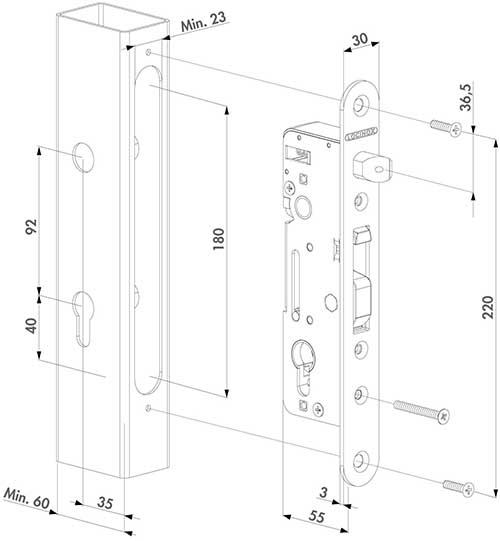 H-Metal Zeichnung 1