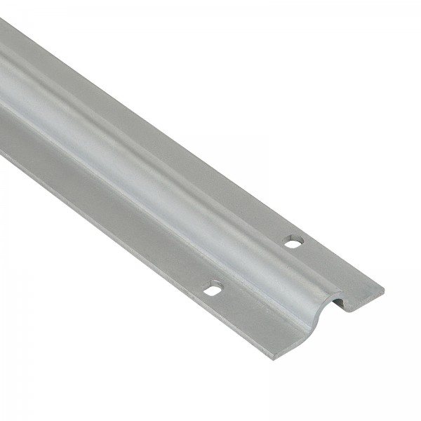 Bodenlaufschiene flach EDELSTAHL oder verzinkt | 2m | 3m | 6m