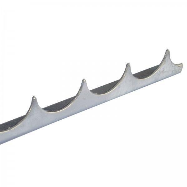 10 Stück Locinox Zackenleiste zum Aufschrauben je 2 m