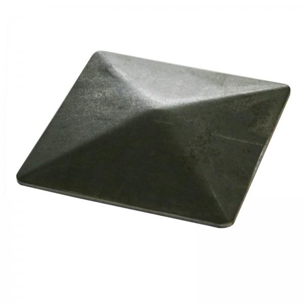 Pfostendeckel Pyramide ohne Rand (40 mm - 150 mm)
