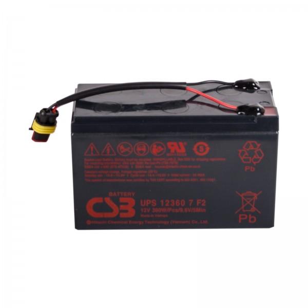 Ersatzbatterie Solar Parkbügel