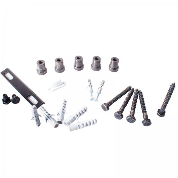 Befestigungs-Kit für Schiebetürschiene 30x5mm