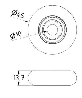 Zeichnung ATTAS Sektionaltorrolle