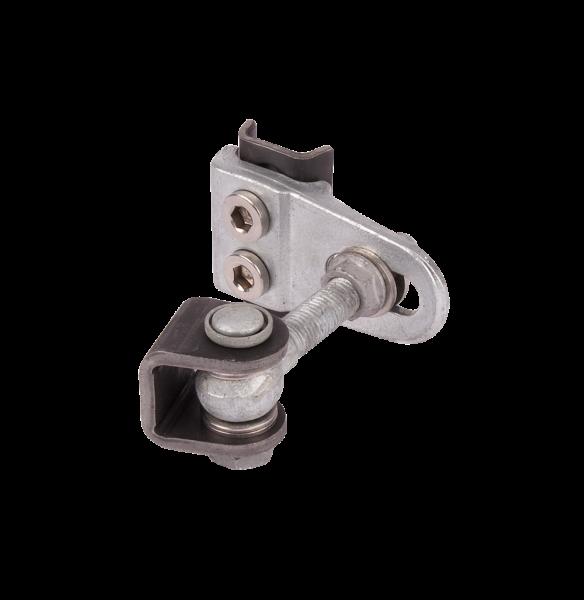 4-Fach Torband Aluminium 110 mm