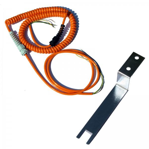 Spiralkabel 5-adrig 5x0,5 qmm