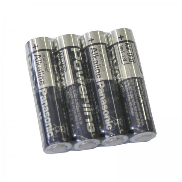 Hochleistungsbatterie Panasonic Industrial AAA-LR03