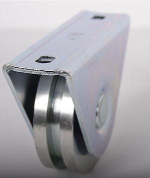 Laufrolle-mit-Anschraubplatte-Detail